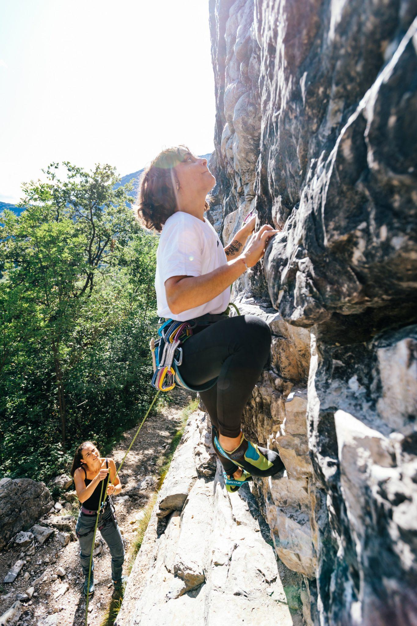 Klettern Marderwand Mädls