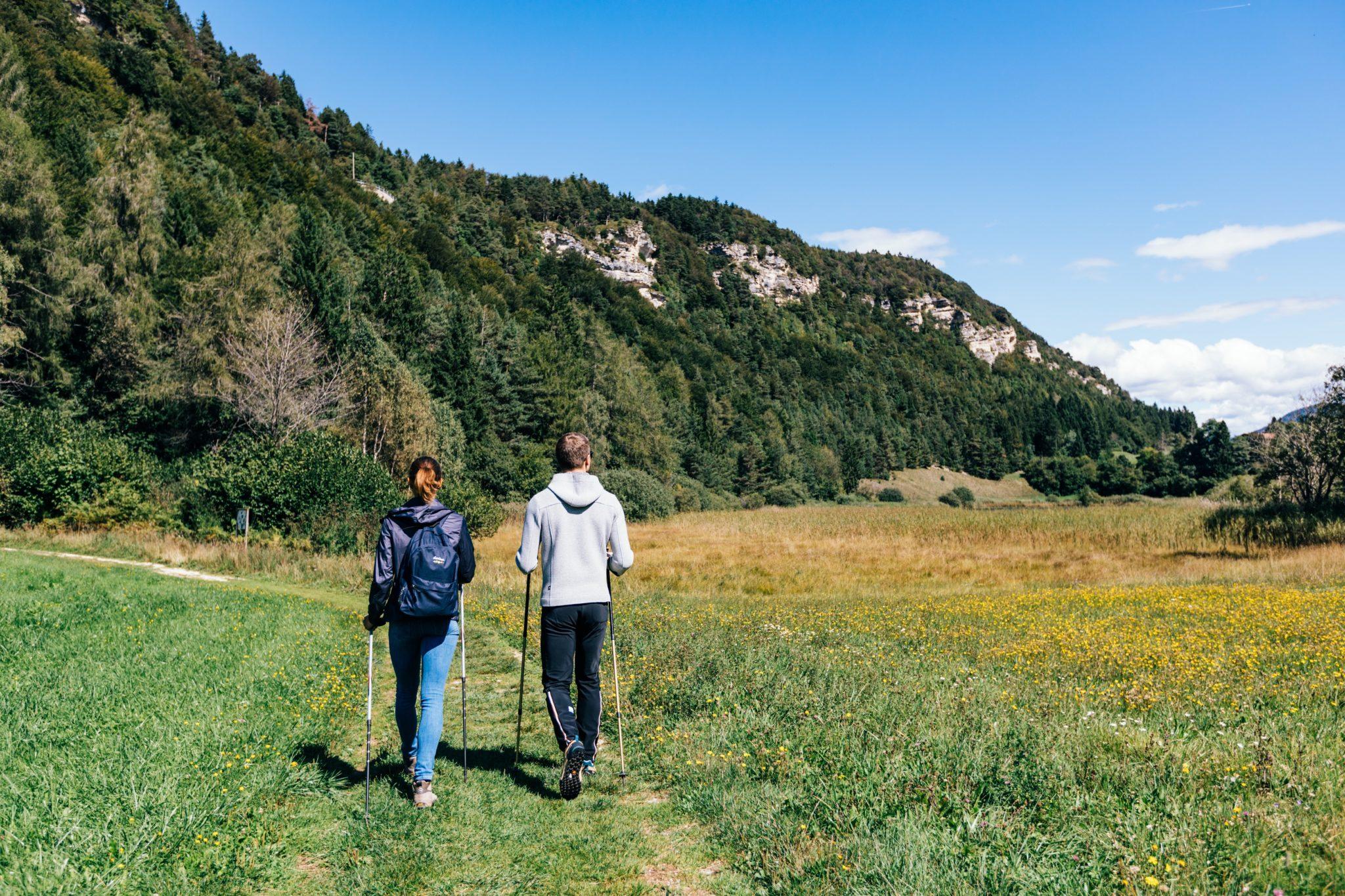 Wandern zum Fennberger See