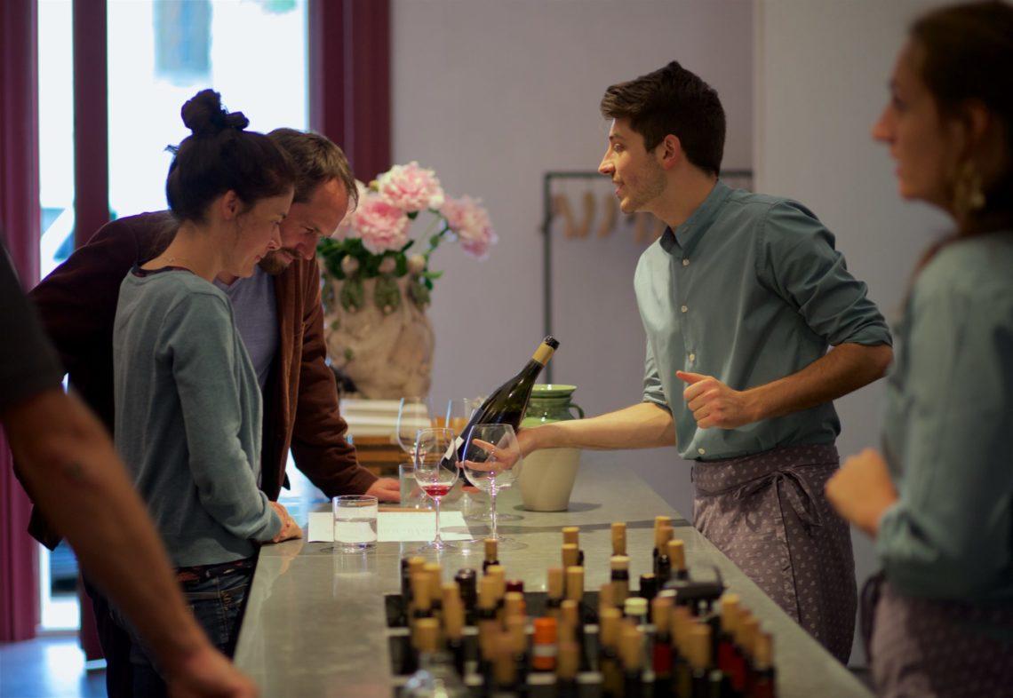 Weinverkauf Lageder